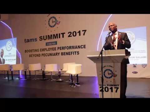 TAMS Summit Keynote Speaker