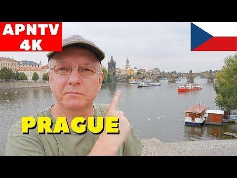 Prague, Czech Republic 4K Vlog