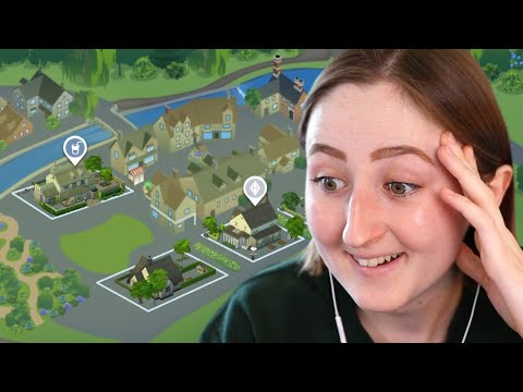 FIRST LOOK AT THE SIMS 4 COTTAGE LIVING