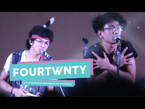 [HD] Fourtwnty - Puisi Alam  (Live at Universitas Muhammadiyah Yogyakarta, Mei 2017)