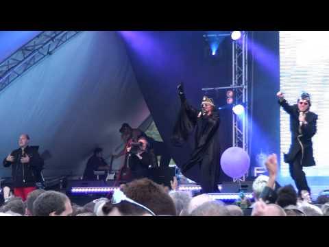 "DR BOMBAY ""S.O.S. (The Tiger Took My Family)"" Live @ Pride Stockholm 2010"