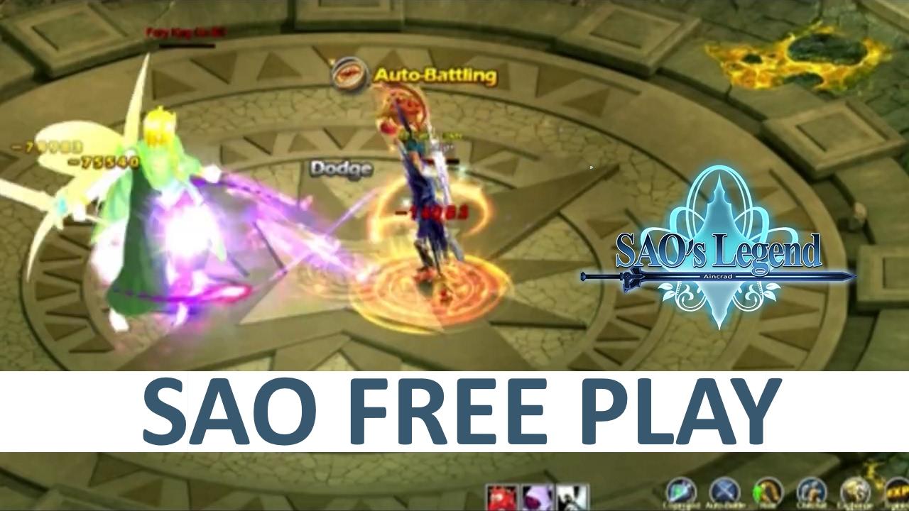 Sword Art Online PC SAO Online MMORPG - YouTube