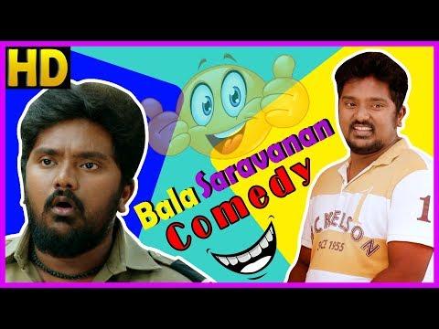 Bala Saravanan Comedy Scenes   Tamil Comedy 2018   Samuthirakani   GV Prakash   Sasikumar