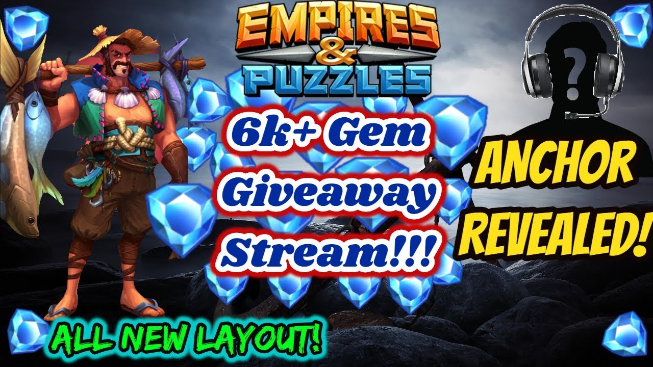 Empires And Puzzles Gems Giveaway Tips Tricks Other Help Raids Farming New Webcam 9 10 Youtube