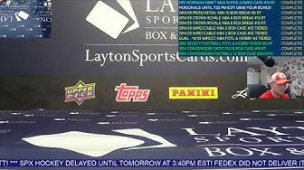 LaytonSportsCards Live!