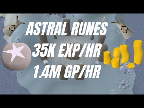 Astral Runecrafting Guide   OSRS   35k EXP/HR   1.4m GP/HR