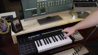 REVIEW of Alesis VI25 + Ableton Live