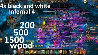 Drakensang online - Karabossa Inf 4 / kill 4x White and Black Magotina