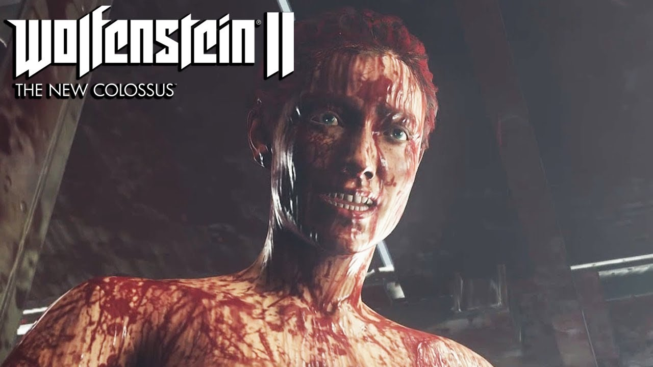 Wolfenstein 2 The New Colossus Ending  Final Boss Fight -7709