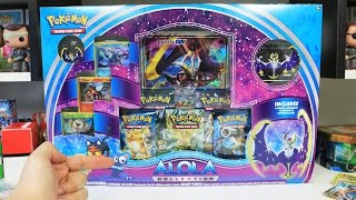 Opening an Alola MOON Collection Box
