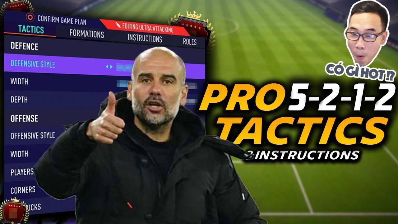 Download Đá kiểu Pep Guardiola với sơ đồ 5212