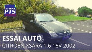 TEST - CITROËN XSARA 1.6 16V PACK 2002 - FRANCE
