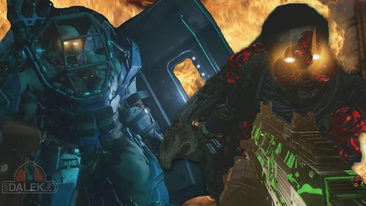 Call Of Duty Advanced Warfare Exo Zombies Infection Gameplay Ascendance Dlc Map Pack 2 Youtube