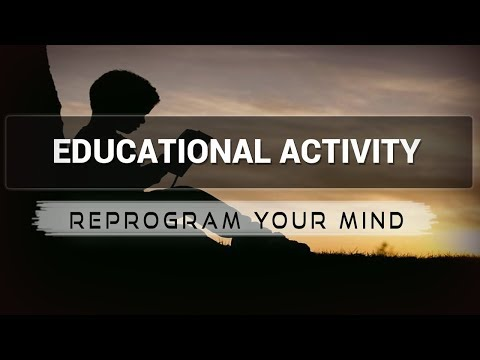 Educational Activity affirmations mp3 music audio - Law of attraction - Hypnosis - Subliminal
