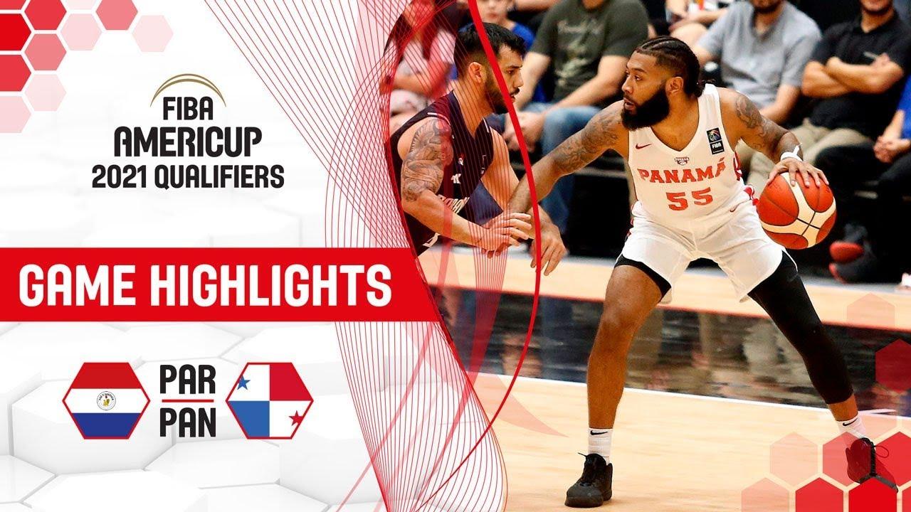 Paraguay v Panama - Highlights - FIBA AmeriCup 2021 - Qualifiers