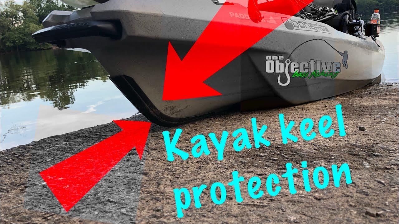 Kayak Keel Protector Install