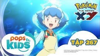 Pokémon Tập 267 -  Teruna và Yanchamu! Hãy Biểu Diễn Ngọn Lửa Quyến Rũ! - Hoạt Hình Pokémon S18 XY