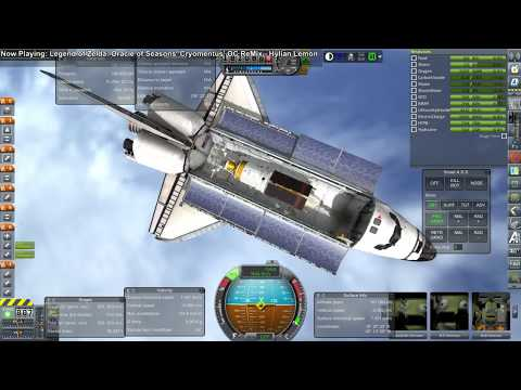 Kerbal Space Program/RO - The Shuttle from Launch to Landing