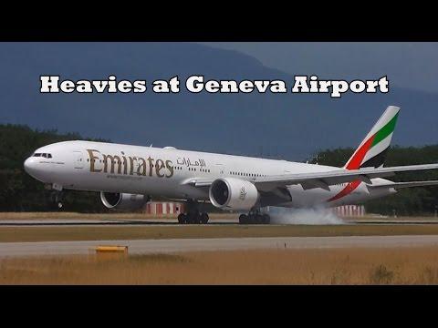 Heavies at Geneva Airport (GVA/LSGG) - July 2015 - Saudia A333, Swiss A333, United 763 & much more!