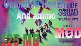 SUICIDE SQUAD SPECIAL OPS GAME MOD ll apk+data ll Offline ll
