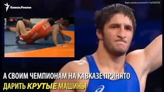 Автопарк олимпийского чемпиона Садулаева