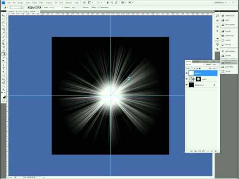 Flare Effect Photoshop Tutorial