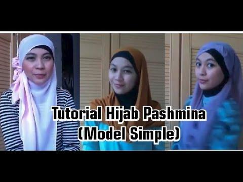 Kompilasi Trend Tutorial Hijab Pashmina Sifon Simple Terbaru Februari 2015 #20