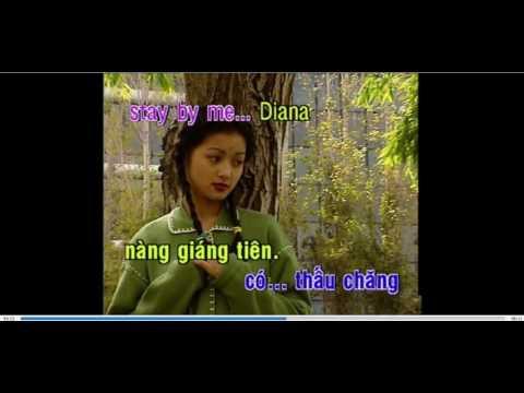 Diana - nhạc ngoại lời Việt - KARAOKE DVD