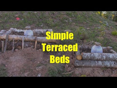 Quick, Cheap, And Easy Terraced Garden Beds