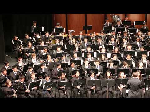 Jenny Lin 2017 Summer Concert Symphonic Band Performed Alchemy 2013 by Andrew Boysen, Jr.