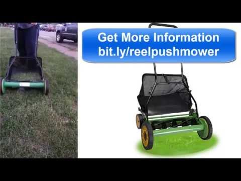 Could This Old Fashioned Mower Save You Money Doovi