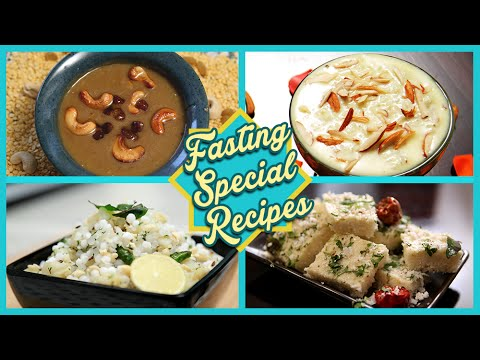 Fasting Special Recipes | Quick And Easy Fasting Recipes | Rajshri Food