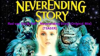 Rad van Ste & Ralf - Neverending Story (Original Mix)[TEASER]