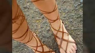 Sandalias Primavera Verano Bonitas Para Mujer