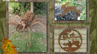 Rusty Rooster - British Rusty Metal Garden Art - www.rustyrooster.co.uk