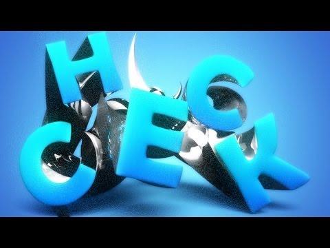 Stylish 3D Text Effect | Photoshop CS6 Extended
