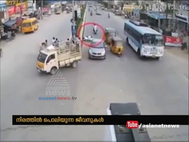 4,000 or more road accident deaths in Kerala  2015 , Road accident rate Kerala in 5th position