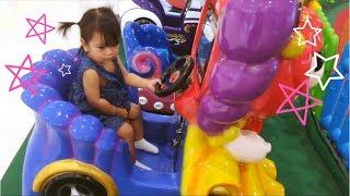 Baby Song | MacDonald had a farm at a Kid's Play Machine Ride