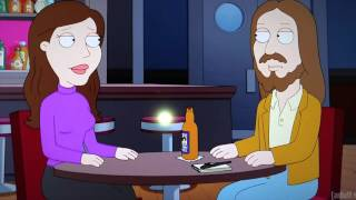 Family guy- jesus at speed dating