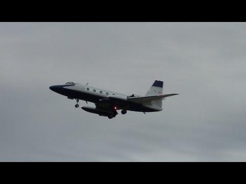 Lockheed L-1329 JetStar 731 Landing