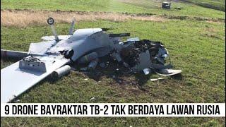 Rusia Jatuhkan 9 Drone Bayraktar TB-2