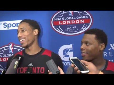 Raptors Practice: Kyle Lowry & DeMar DeRozan - January 12, 2016