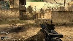 CoD4 online gameplay 33 kill streak!! (PC)