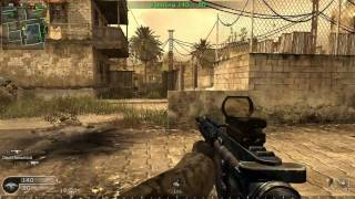 CoD4 online gameplay 33 kill streak!! (PC)