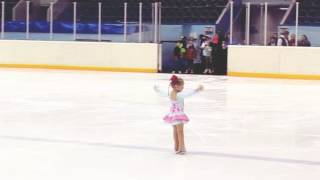 3 year old Russian figure skating star