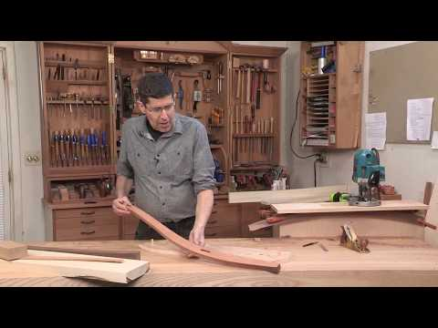Joinery In Curvy Furniture