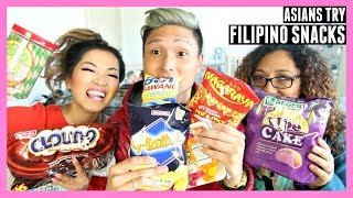 ASIANS TRY FILIPINO SNACKS