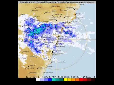 BOM Rain Radar Of Sydney