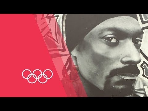 The Hub - Which Olympian is posing with Snoop Dogg? Who