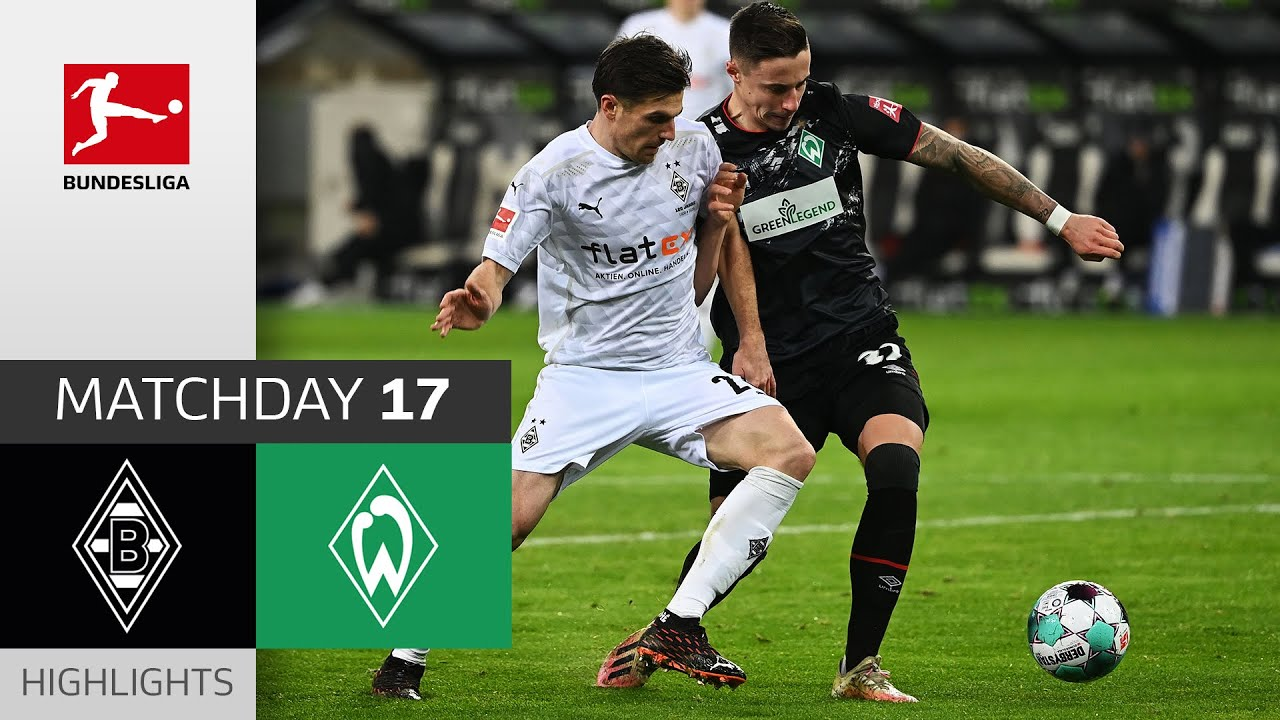 Download Borussia M'gladbach - SV Werder Bremen | 1-0 | Highlights | Matchday 17 – Bundesliga 2020/21